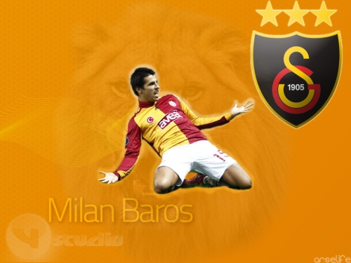 Milan Baros ystudio